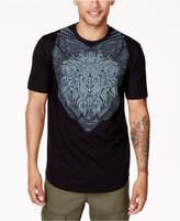 Sean John Men's Big & Tall Lion Rhinestone Graphic-Print T-Shirt