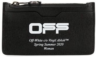Off-White Printed Logo Purse