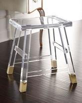 Interlude Dyer Acrylic Vanity Seat