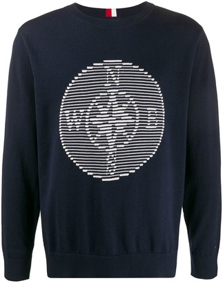 Tommy Hilfiger Compass Badge Crew-Neck Pullover