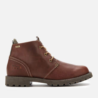 Barbour Men's Pennine Leather Waterproof Chukka Boots - Hickory