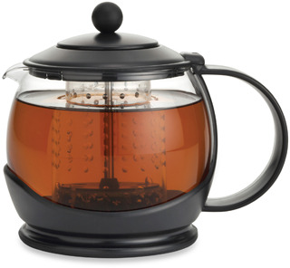 Bed Bath & Beyond BonJour® Prosperity Teapot with Shut-Off Infuser