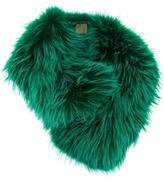 Mr & Mrs Italy fur scarf