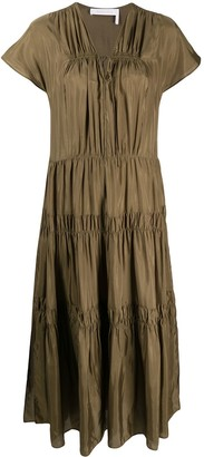 See by Chloe Tiered Tunic Dress
