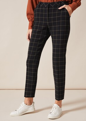 Phase Eight Toni Check Suit Trousers