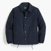 J.Crew Nylon coach's jacket