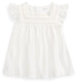 Polo Ralph Lauren Baby Girls Knit Flutter-Sleeve Top