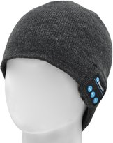 FULLLIGHT TECH Bluetooth Beanie Hat Headphones Washable Winter Knit Cap with Stereo Bluetooth Headset Earphones Speakers & Mic for iPhone Samsung Android Christmas Gifts