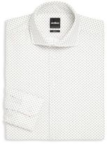 Strellson Geometric Print Dress Shirt