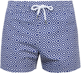 FRESCOBOL CARIOCA Sports Angra-print swim shorts