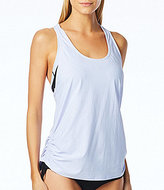 Beach House Sport Colorblock Remix Double Up Turbo Tankini and Bikini Sport Top