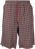 Undercover checked shorts