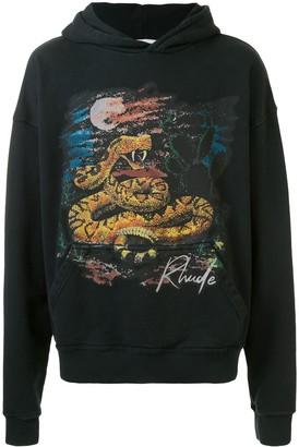 Rhude Seven Snake graphic print hoodie