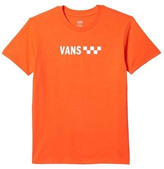 Vans Brand Striper Boyfriend Tee (Grenadine) Women's Clothing
