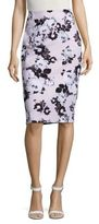 Lord & Taylor Floral Pencil Skirt