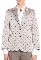Thom Browne Printed Silk Jacket