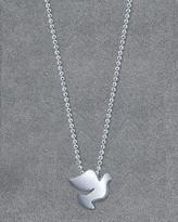 Alex Woo Women's Dove Pendant Necklace