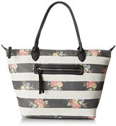 Dolce Girl Floral Perforated Travel Tote