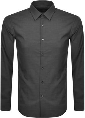 Boss Business BOSS Slim Fit Isko Shirt Black