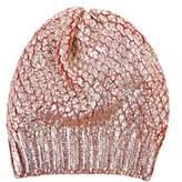 Blugirl Women's Orange Wool Hat.