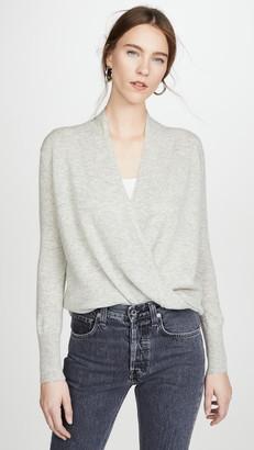 Brochu Walker Layered Wrap Pullover