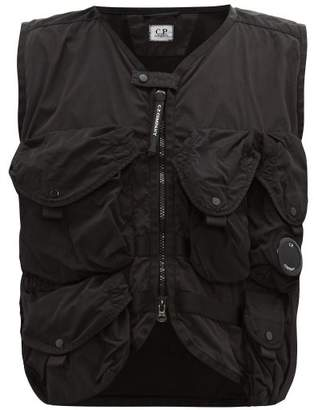 C.P. Company Tactical Cotton And Nylon-blend Gilet - Mens - Black