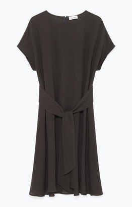 American Vintage Carbon Grey Azulay Dress - S