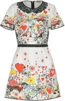 Piccione Piccione Short dresses - Item 34738008