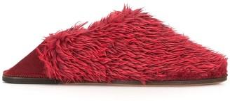 Doublet Faux Fur Slippers