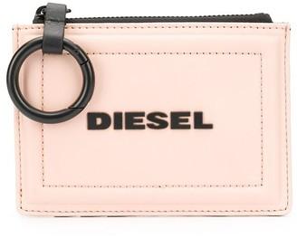 Diesel two tone keychain purse