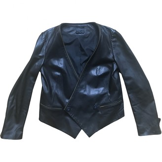Hotel Particulier Black Leather Jacket for Women