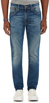 Nudie Jeans Men's Lean Dean Fitted Jeans-Blue