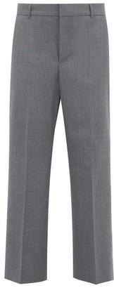 A.P.C. X Suzanne Koller Eva Twill Straight-leg Trousers - Womens - Grey