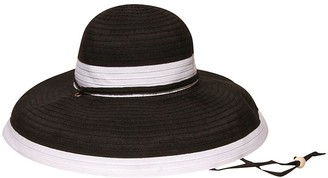 Physician Endorsed Women's Gemini Ribbon Chin Strap Packable Sun Hat Rated UPF 50+ for Max Sun Protection