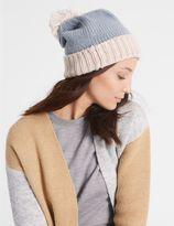 Marks and Spencer Bobble Winter Hat