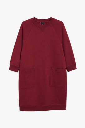 Monki Long sweater dress
