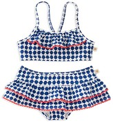 Kate Spade Girls' 2-Piece Swimsuit - Sizes 7-14