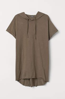 H&M Hooded T-shirt - Green