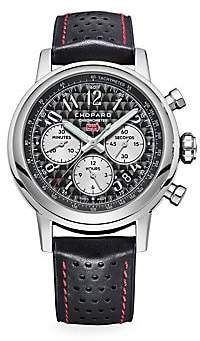 Chopard Women's Mille Miglia Racing Colors Stainless Steel & Leather Strap Watch