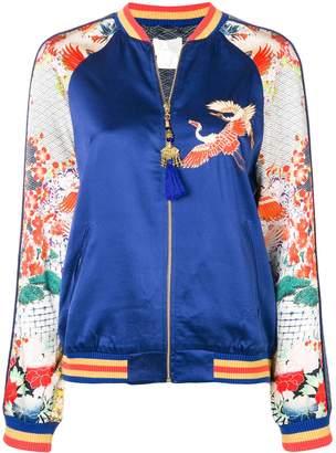 Camilla embellished bomber jacket