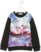 Stella McCartney swan print sweatshirt