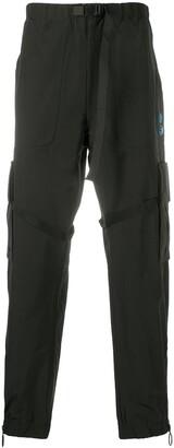 Off-White Offf Nylon Cargo Pant Black White