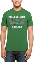 '47 Men's Philadelphia Eagles Two Bar Splitter T-Shirt