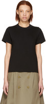 Junya Watanabe Black Cotton T-shirt