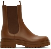 Thumbnail for your product : Gianvito Rossi Tan Chester Boots