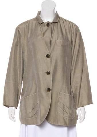 148 Button-Up Long Sleeve Blazer