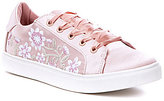 Betsey Johnson Darbi Embroidered Sneakers