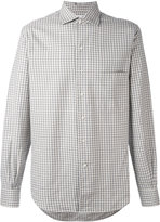 Loro Piana checked shirt
