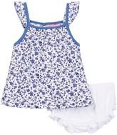 Isaac Mizrahi Floral Sundress & Bloomer Set (Baby Girls 12-24M)