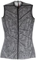 Rick Owens Lilies mesh overlay dress - women - Polyamide/Spandex/Elastane - 40